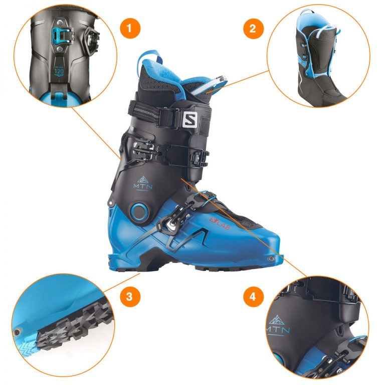 Ski boot review: Salomon SLab MTN 110 Available at Profeet