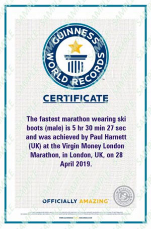 Paul Navesey Certificate