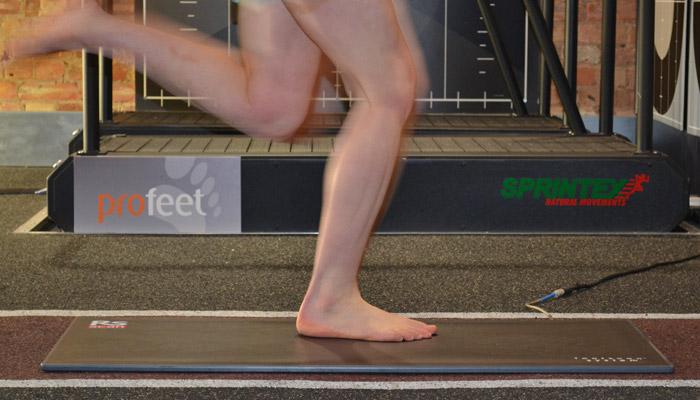 dynamic foot scan
