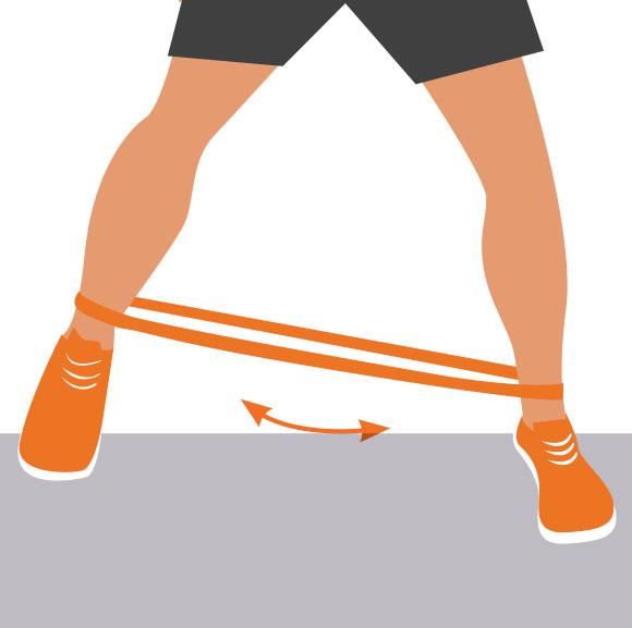 Ski fitness: Hip Abduction