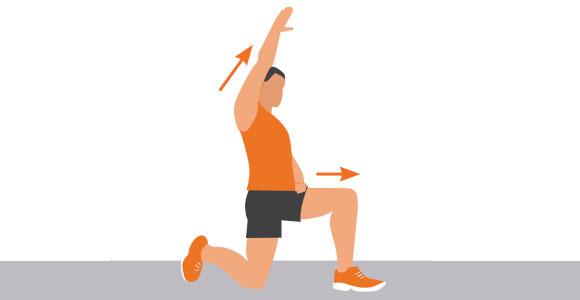 Hip Flexor/ITB Stretch