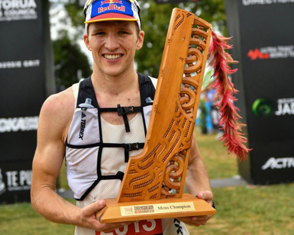 Tom Evans Tarawera winner
