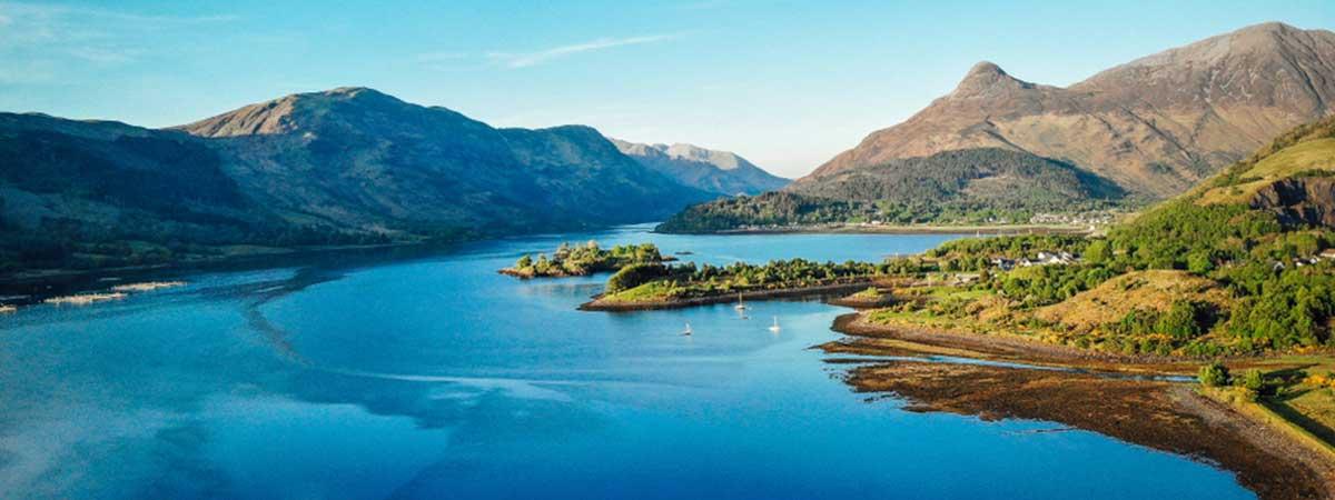 Glencoe Loch in Scotland staycation