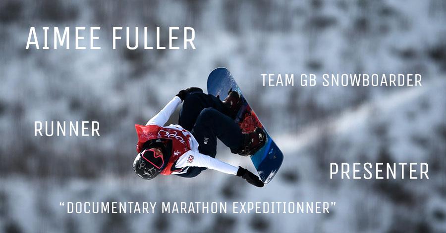 Aimee Fuller Team GB Snowboarder
