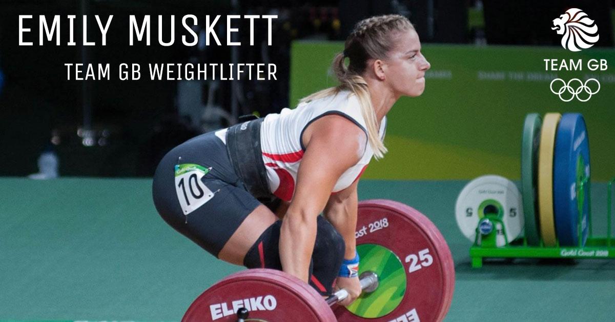 Emily Muskett Weightlifter