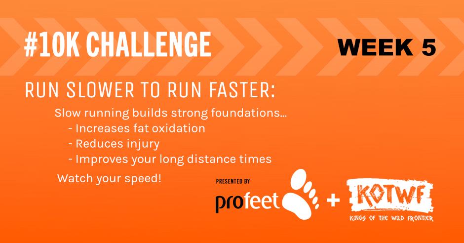 10K Challenge Update