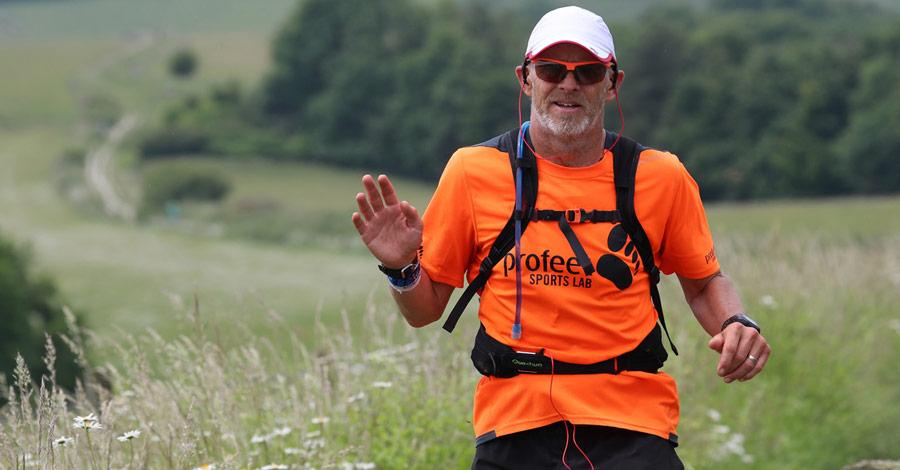 Iain Martin Ultra Runner UTMB 2021
