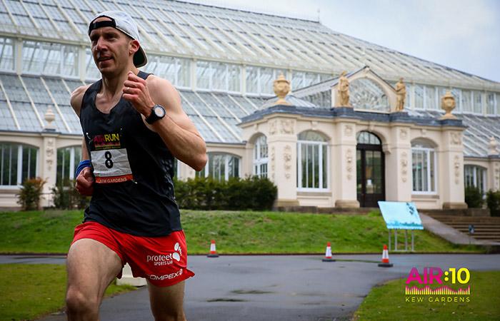10K London, Profeet running shoes, Pierre Meslet