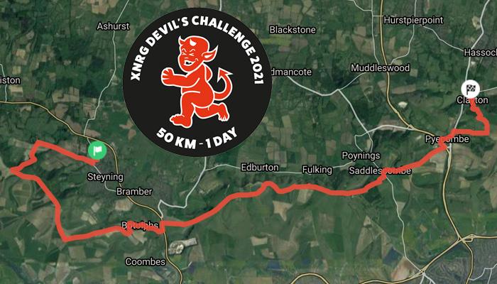 Devils lite 5km route