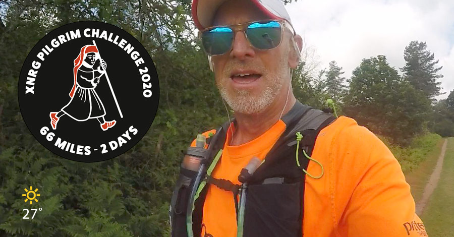 Iain Martin - Pilgrims Challenge 2021