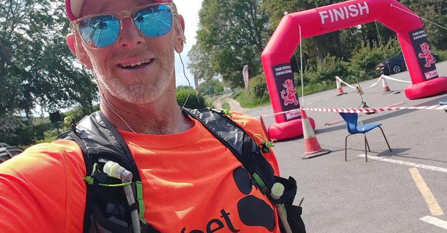 Iain Martin Devil's lite 50km ultramarathon
