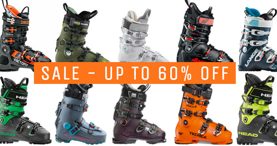Ski Boot Sale - up to 60$ OFF