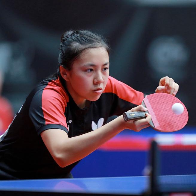 Tin-Tin Ho, Table Tennis England