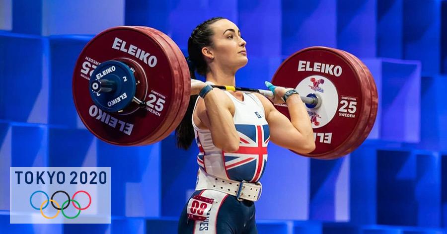 Sarah Davies Weightlifter, Team GB, Tokyo Olympics
