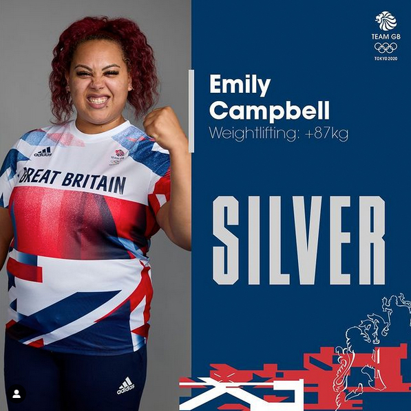 Emily Campbell Team GB Weightlifter