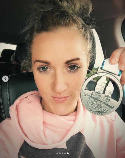 Natalie Lawrence RTTS 2021 50km winner