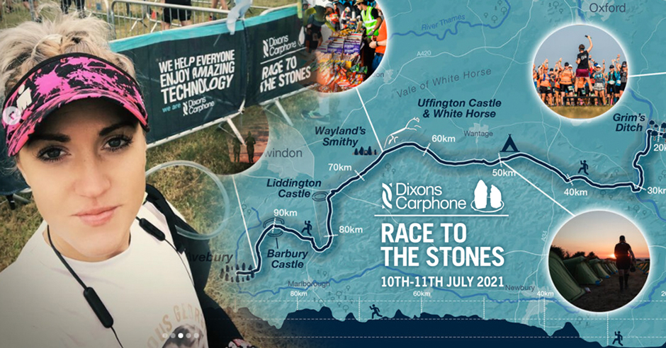 Race to the Stones 2021 50km Natalie Lawrence