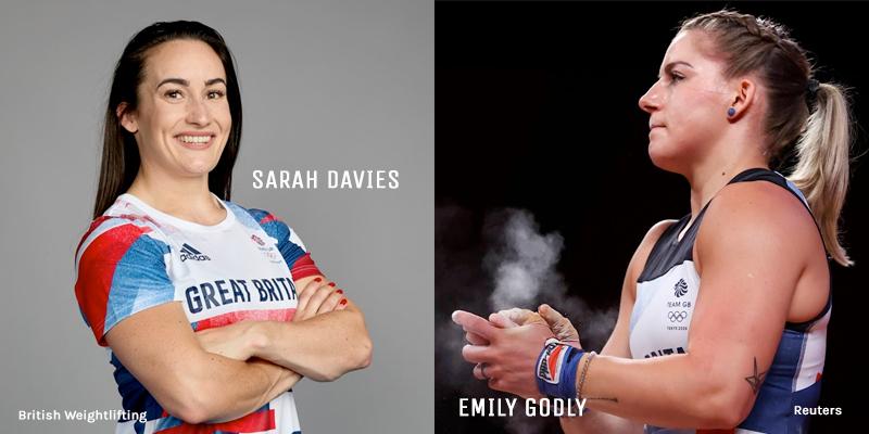 Olympians: Sarah Davies & Emily Godley