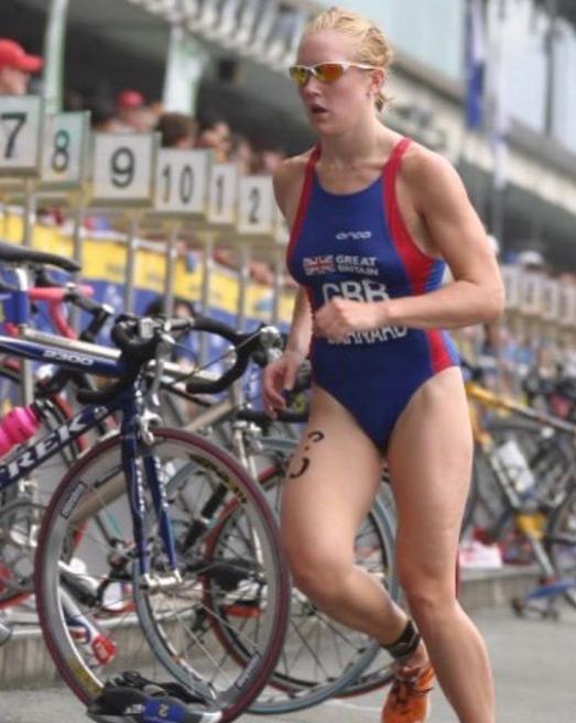 Former Team GB triathlete, Natalie Lawrence