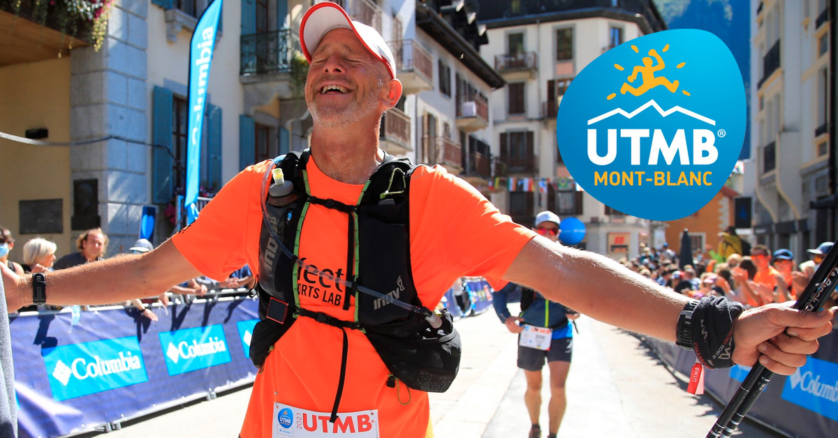 Iain Martin completes the Ultra Trail du Mont Blanc - 2021